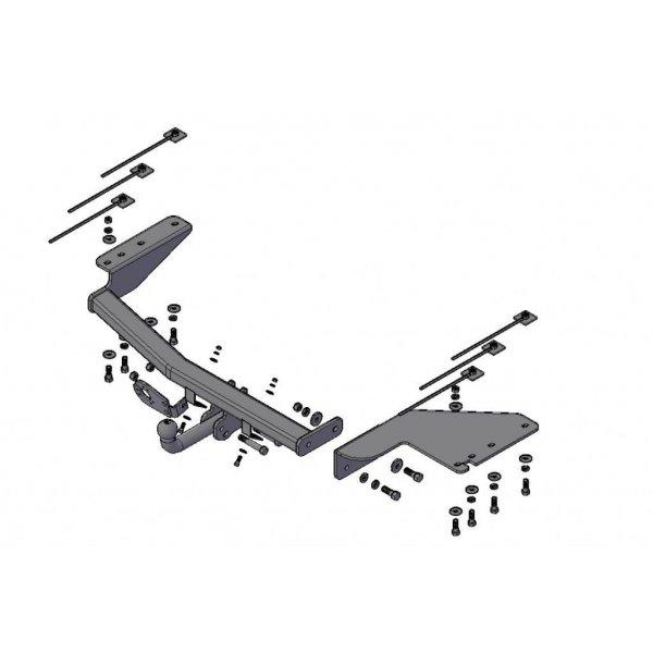 Фаркоп Трейлер 5010 на JAC Rein (2007-2010)