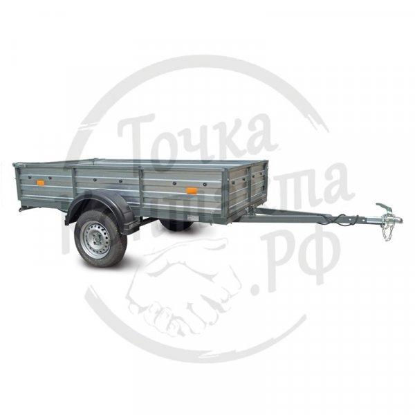 """Прицеп СЛАВИЧ 253""""крашеный (2500х1300х400мм) для перевозки грузов"""