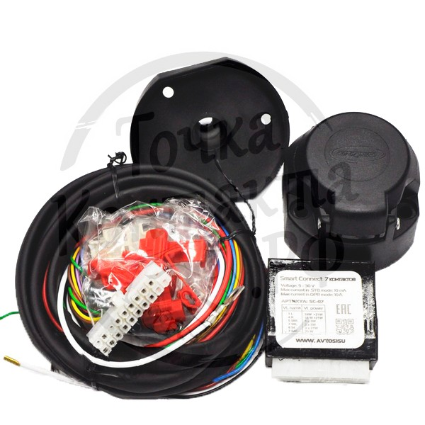 Блок управления электр. прицепа универсальный AvtoS SC-07