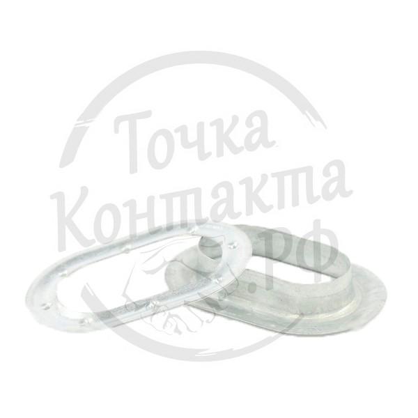 Люверс тента овальный 41х21мм (наружн.60х40мм) РТИ-СЕРВИС 9210