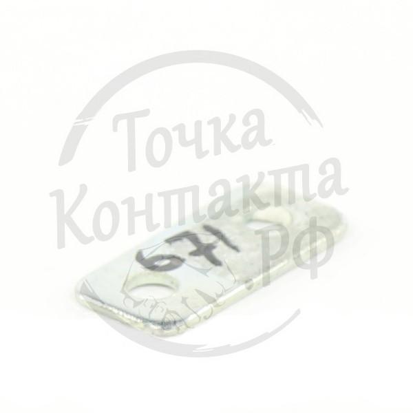 Подкладка для скобы бортовой крепления тента 30х14мм РТИ-СЕРВИС 9235-1