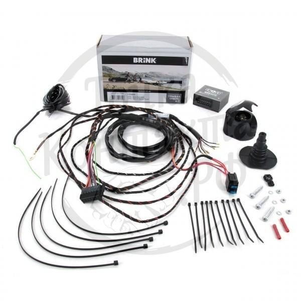 Штатная электрика Brink 701483 к фаркопу на Audi A7 (2011-)