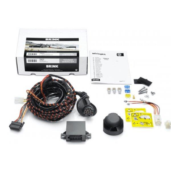 Электрика к фаркопу на Audi Q7 (2015+) 13 контактов