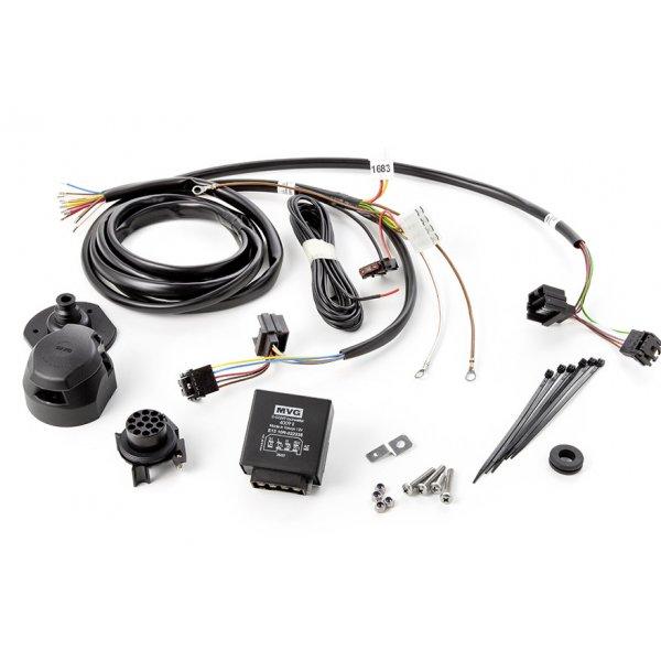 Электрика для фаркопа на Volvo XC90 (2003-2014) 13 контактов