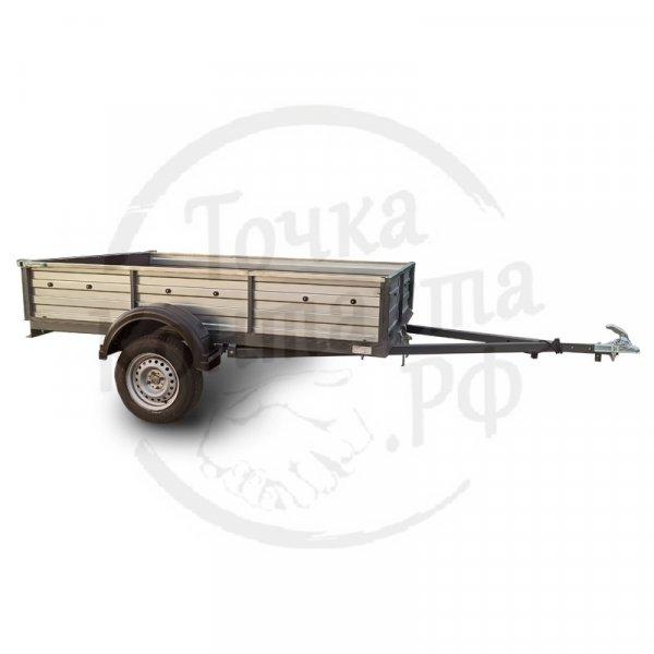 """Прицеп СЛАВИЧ 255""""крашеный (2500х1500х400мм) для перевозки грузов и техники"""