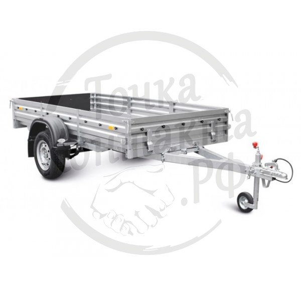 Прицеп для перевозки стройматериалов и мототехники МЗСА 817705.012