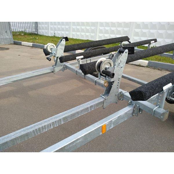 Прицеп для двух гидроциклов МЗСА (макс. длинна судна до 4.0м)