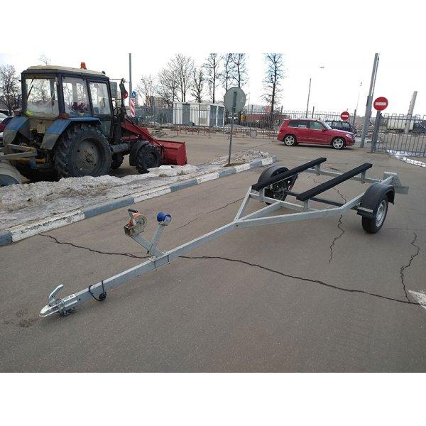 Прицеп для стеклопластиковых лодок РУСИЧ (Славич) 450 (макс. длинна судна до 4.0м)