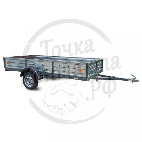"""Прицеп СЛАВИЧ 325""""крашеный (3200х1500х400мм) для перевозки грузов и техники"""