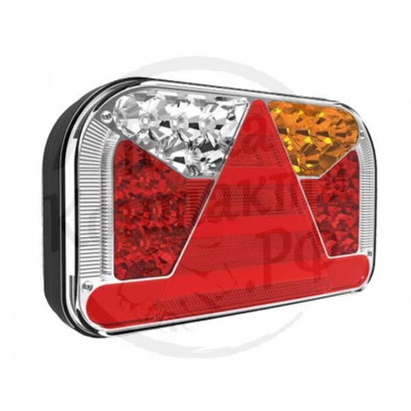 Фонарь задний для прицепа (LED, герметичность, 7 функций) FT-170L