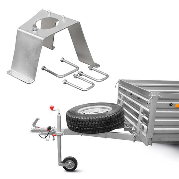 Кронштейн запасного колеса R16 для прицепа