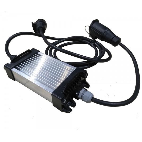 Блок для прицепа с установленными LED фонарями