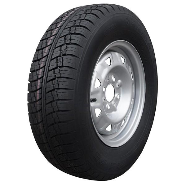 Запасное колесо для легкового прицепа R13C 98x4, с грузовой резиной